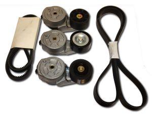 Części silnikowe do maszyn gąsienicowych i budowlanych zestawy paski napinacze