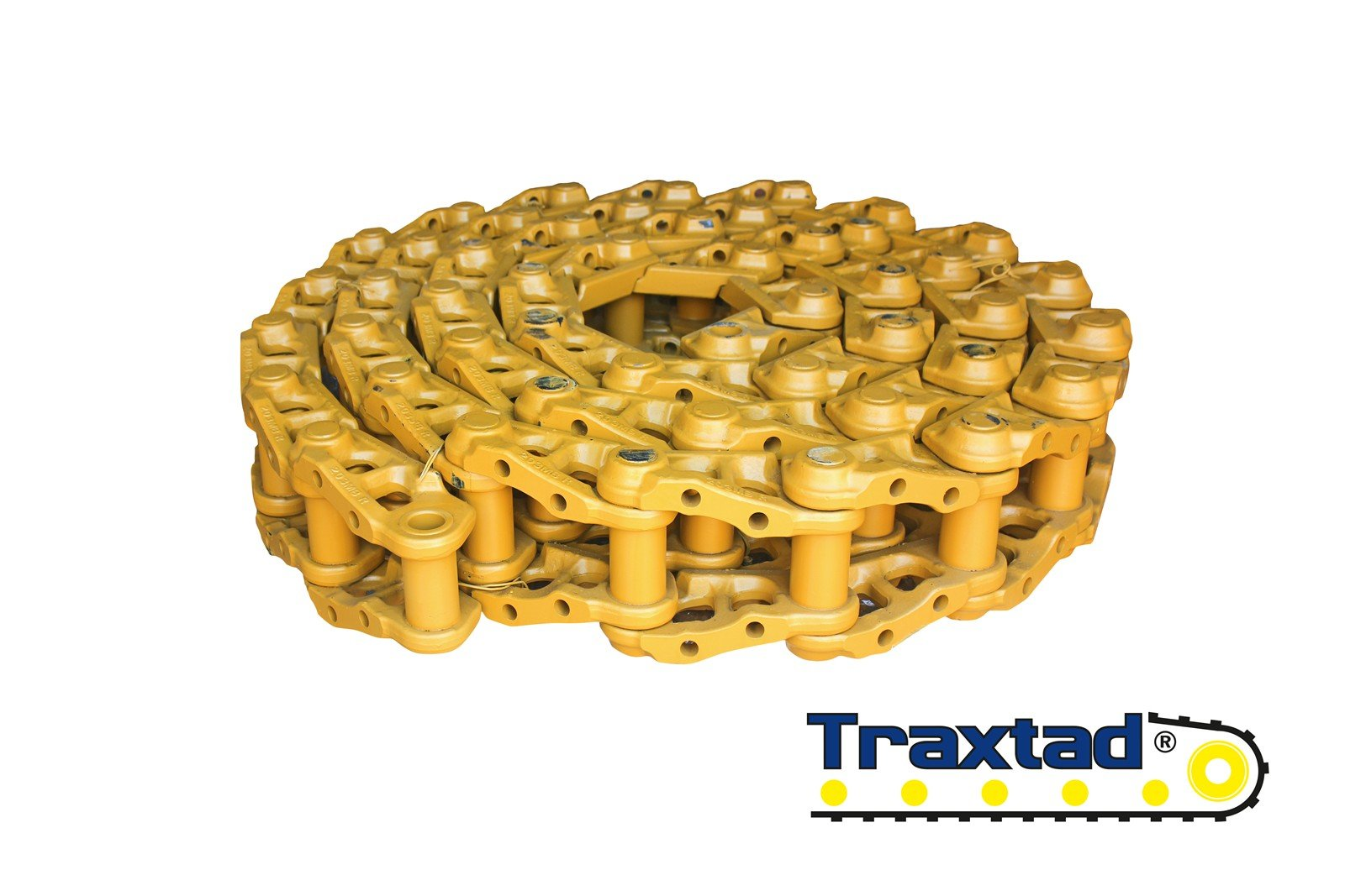 Łańcuchy do maszyn budowlanych i gąsienicowych