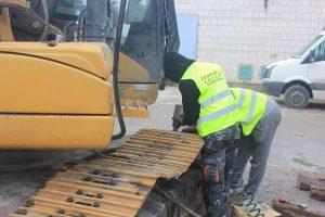 części do maszyn budowlanych traxtad serwis przy pracy
